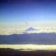 日本海側から望む富士山
