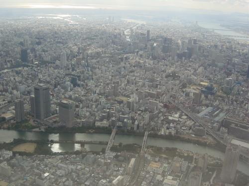 大阪の都心部