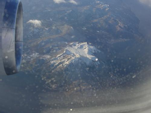雪化粧の御嶽山