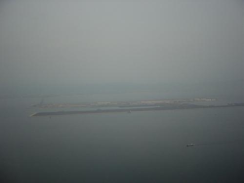 造成中の関西空港第二滑走路