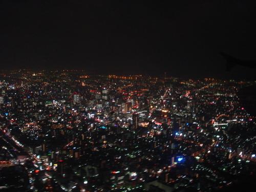 大阪(梅田あたり)の夜景